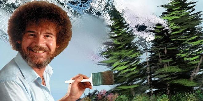 Bob Ross: Belki Şurada Küçük Mutlu Bir Ağaç Vardır